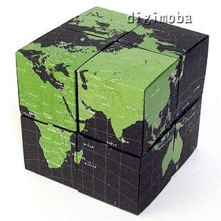 Geografia回転式地球儀/天球儀 組み立てキット/ギフト ...