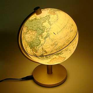ライティング地球儀 ...